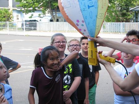 Des montgolfières pour lancer l'année scolaire!