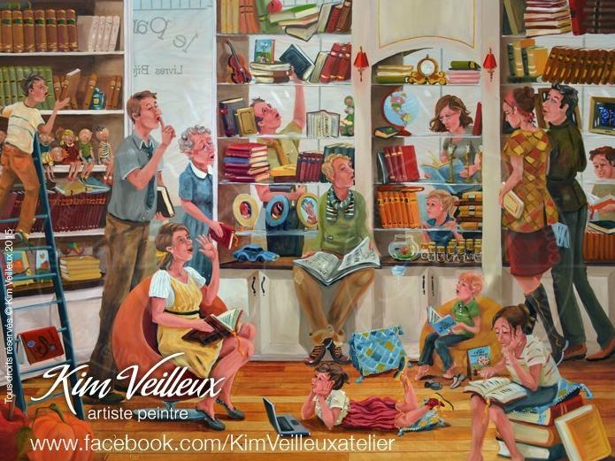 Tableau de Kim Veilleux