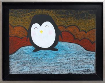 Pingouin sur la banquise