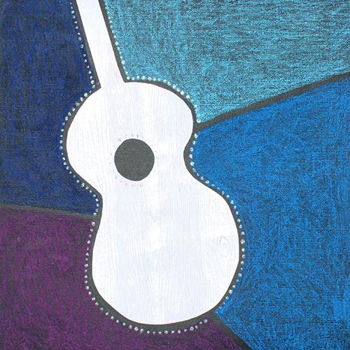 Guitare éclatée