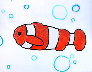 Poisson dans l'eau