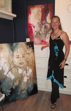 RenéeRose, artiste peintre contemporaine