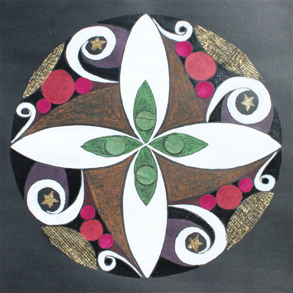 Mandala sur papier