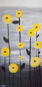 fleurs modernes