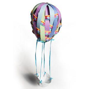 Légère montgolfière