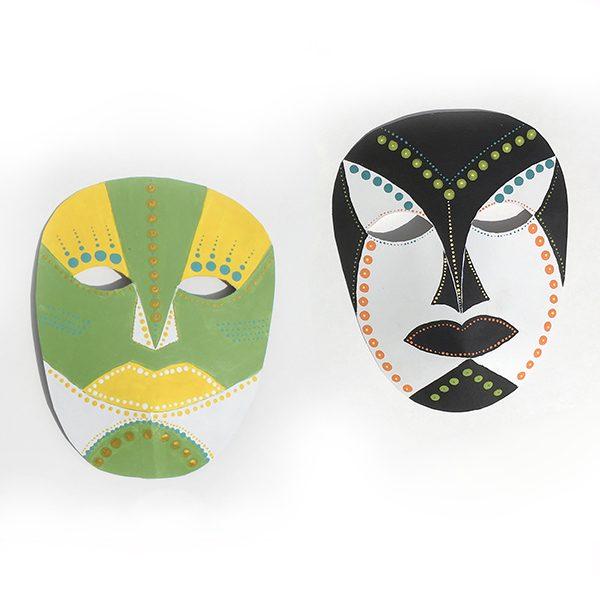 Masques décoratifs